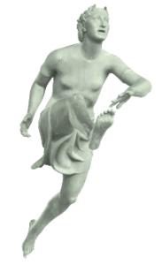 statua ondina foto