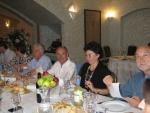 9. Da destra - Domenico, Elena, Flavio l'ospite Riccardo Galetto (RC Pavia), Luciana..JPG