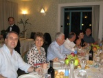 11. Da sinistra -Andrea, Luciana, l'ospite Riccardo Galetto (RC Pavia), Flavio, Elena, Domenico..JPG